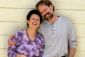 Colleen Crosson and her husband, Mark Sloniker