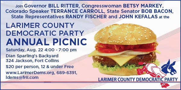 Larimer County Democratic Party Annual Picnic